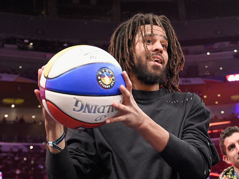 J COLE, MEEK MILL 2019 NBA ALLSTAR GAME