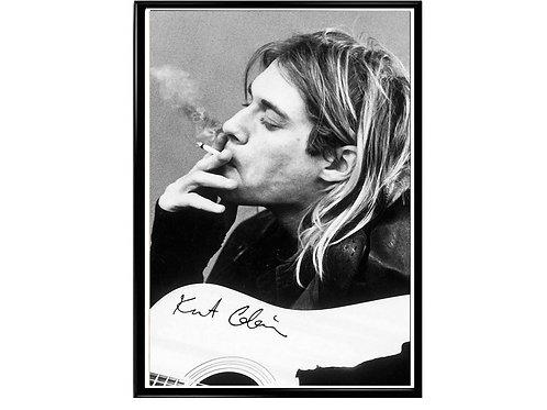 Kurt Cobain Nirvana Grunge Band Poster Printable