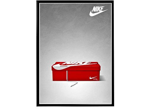Outside the Box Sneaker Poster, Hypebeast Poster, Modern Pop Art
