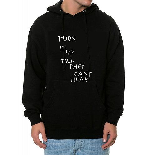 Turn It Up Sneaker Match Hoodie, Streetwear Hypebeast Sweatshi