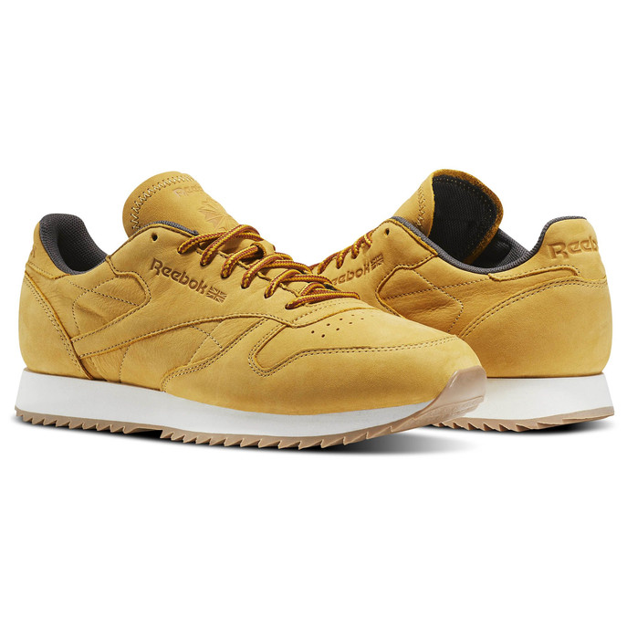 "Reebok's Take On The Workboot With The Classic Leather Ripple ""Wheat"""