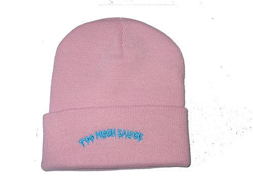 Too Much Sauce Migos Pink Lil Uz Vert Beanie Knit Cap Hat