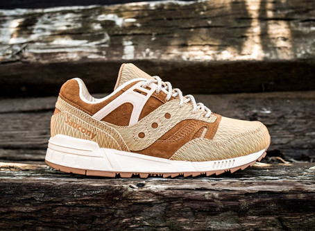 Saucony Grid SD Woodburn Gets An Amazing Wooden Makeover