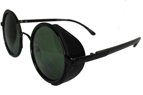 The Aurora Round Lens Streetwear High Fashion Sunglasses Shades Eyewear