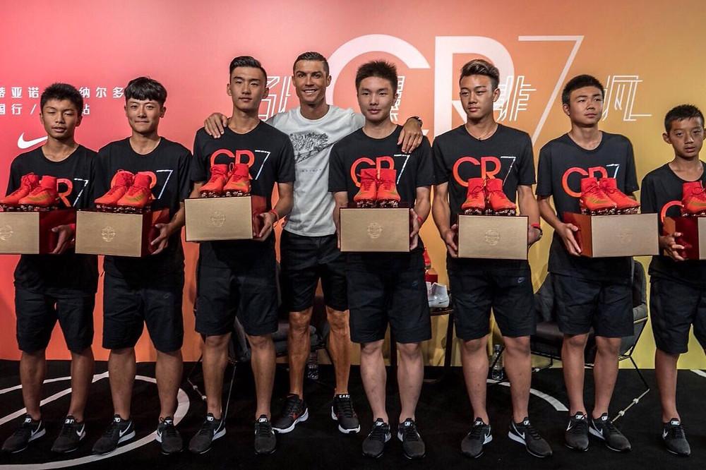 Cristiano Ronaldo's New Black & Red Nike HyperAdapt