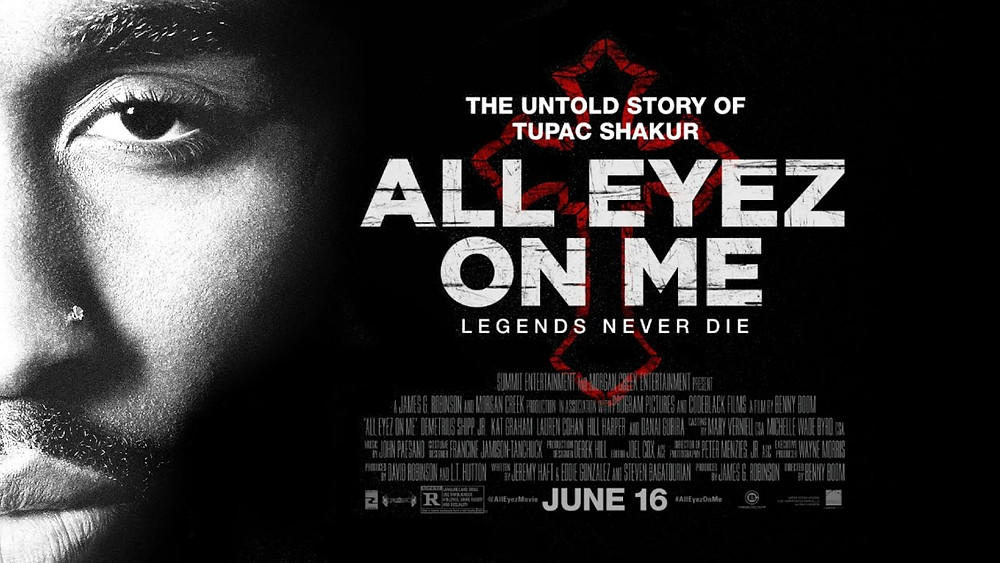 Tupac All eyez on me movie review
