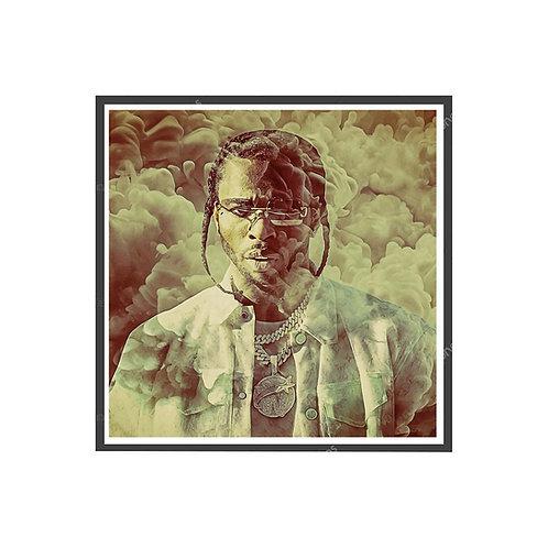 RIP Pop Smoke SQ Poster, Hypebeast Poster, Hip Hop Wall Art