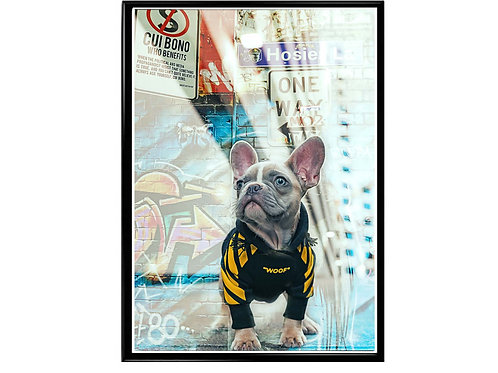Hypebeast Dog Graffiti Street Talk Poster Printable