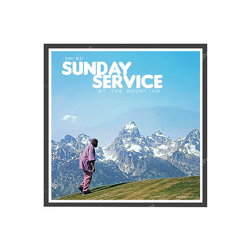 Kanye West Mountian Sunday Service Poster, Hypebeast Poster, Music Posters