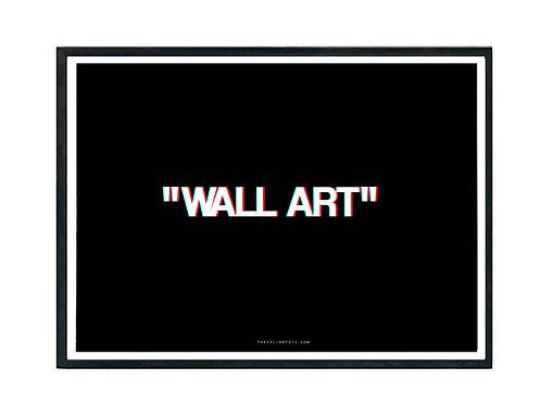 Wall Art Minimal Art Poster, Hypebeast Poster