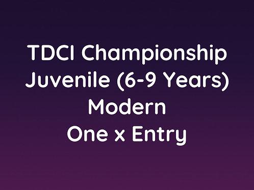 Juvenile Modern (6-9 Years)