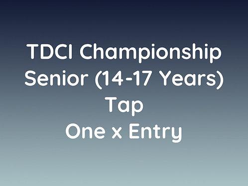 Senior Tap (14-17 Years)