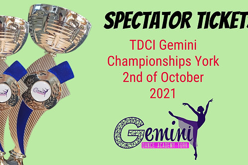 Spectator Seat Saturday 2nd of October 2021