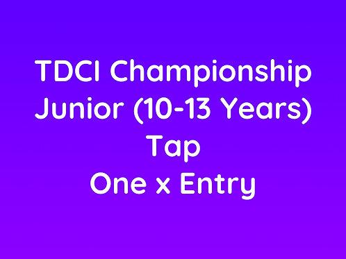 Junior Tap (10-13 Years)