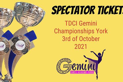 Spectator Seat Sunday 3rd of October 2021