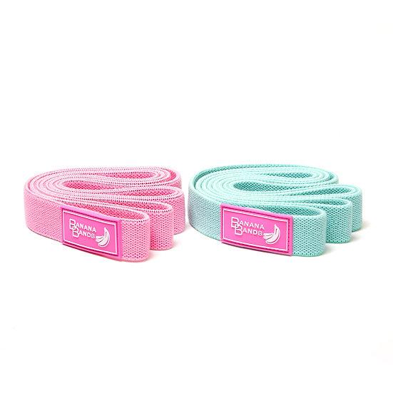 Long Fabric Resistance Bands - Bundle