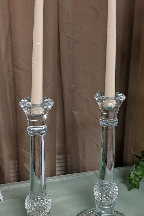 "Set of 14"" Decorative Glass Candle Holder"