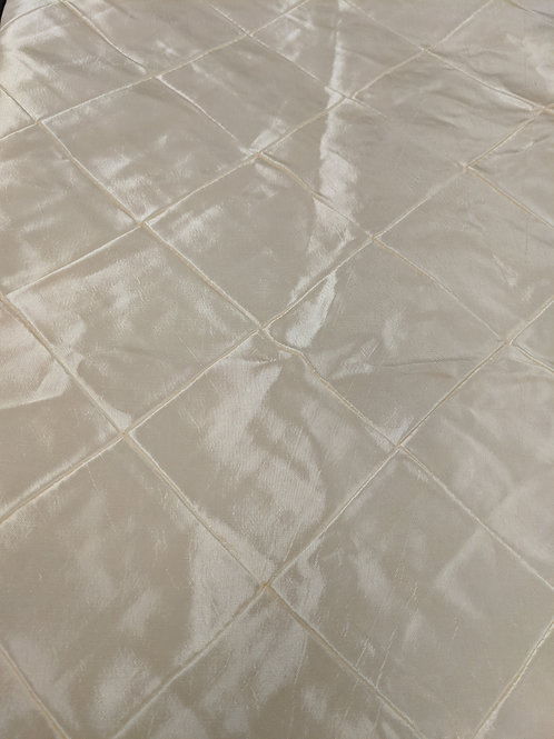 """84"""" Square Tablecloth - Ivory"""