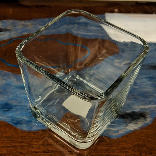 4x4 Libby Clear Cube Votive