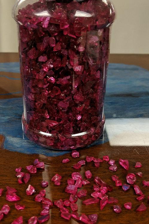 Glitter Glass - Fuchsia