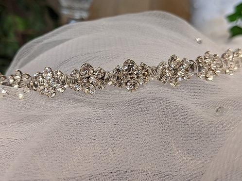 David's Bridal Headpiece