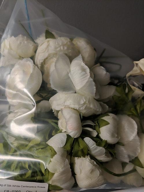 Bag of Cut Silk Centerpiece Roses