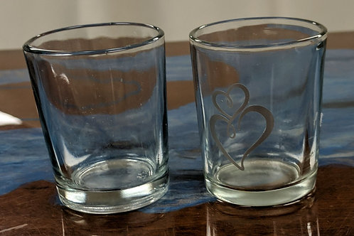 "Set of 28 - 2.5"" Glass Votive Holder"