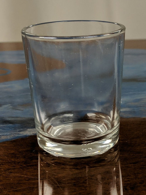 "Set of 19 - 2.5"" Clear Votive"