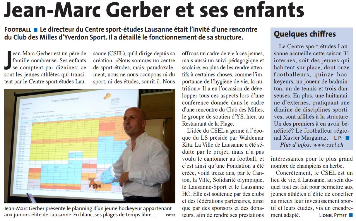 2014.09 - Jean-Marc Gerber