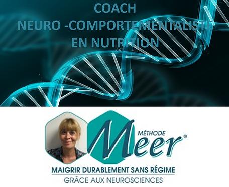 Séance de coaching Neuro comportementaliste en Minceur/Nutrition  Méthode MEER
