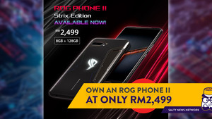 ASUS ROG Phone II Strix Edition is Now Available for Only RM2,499