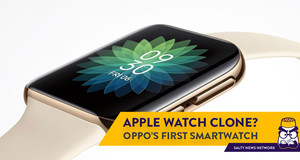 Oppo's First Smartwatch Looks Almost Exactly Like the Apple Watch