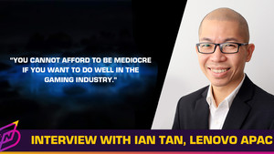 Interview with Ian Tan, Lenovo's Asia Pacific Gaming Lead
