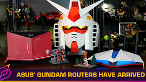 ASUS x Bandai's Gundam Routers Have Finally Been Released