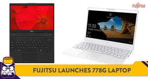 Fujitsu's New UH-X Laptop Weighs Only 778 Grams, Retails at RM4,199