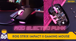 [Review] Form Over Function: The ROG Strix Impact II Electro Punk Mouse