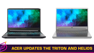 Acer Releases Updated Triton and Helios Laptops, Intel-Powered Nitro 5