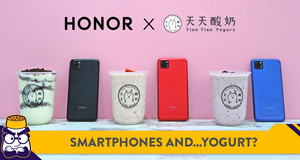 HONOR Partners with Yogurt Brand Tien Tien for Special Edition 9S