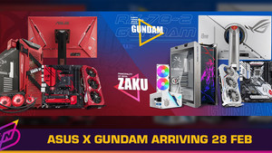 ASUS x Bandai Gundam Collection to Arrive in Malaysia on 28 February