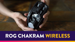 [VIDEO] Mouse with a Joystick? | ROG Chakram Wireless Gaming Mouse