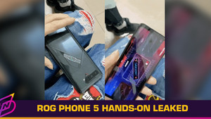 ASUS ROG Phone 5 Hands-On Leaked, Features Secondary Display on Back
