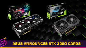 ASUS Announces GeForce RTX 3060 12GB Graphics Cards
