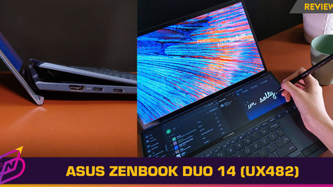 [Review] A Portable Dual Screen Setup That Just Works: The ASUS ZenBook Duo 14 (UX482)