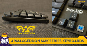 [Review] Slim and Affordable: Armaggeddon SMK Series Low-Profile Keyboards
