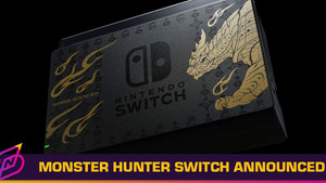 "Nintendo is Releasing a ""Monster Hunter Rise"" Special Edition Switch"