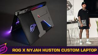 ROG Creates Custom Gaming Laptop for Pro Skateboarder Nyjah Huston