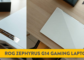 [Review] Redefining Gamer Aesthetics: The ROG Zephyrus G14