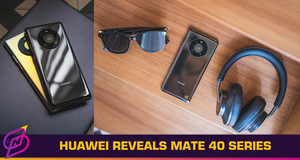 Huawei Officially Reveals the Mate 40 Flagship Smartphone Lineup