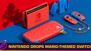 A Super Red Mario-Themed Nintendo Switch is Dropping Just in Time for CNY