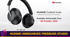 Huawei Announces First Flagship Over-Ear Headphones, Priced at RM1,199